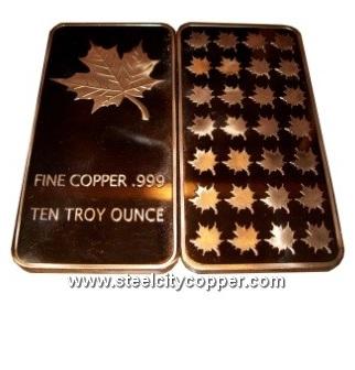 Copper Bullion Catalog