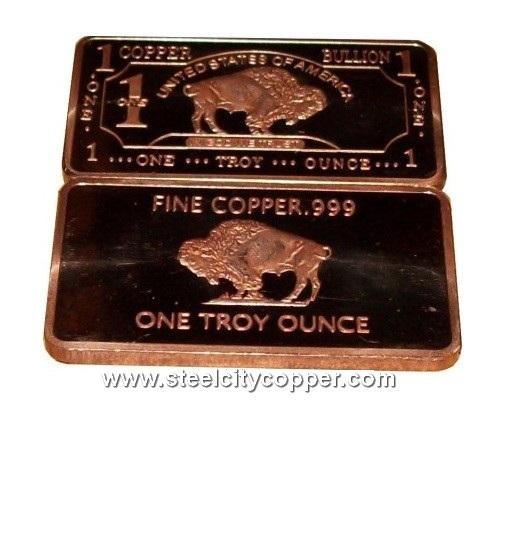 .999 Fine Silver Bar 1//4 Troy Ounce Bullion Copper Bullion Included VERY LIMITED